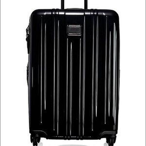 Tumi V3 Short Trip Expendable Suitcase Black NWT